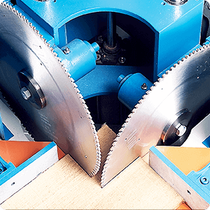 Double Miter Cut-Off Saws and Underpinners