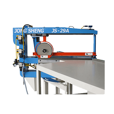 "JS-29A 24""Abrasive Belt Cut-to-Length Machine"