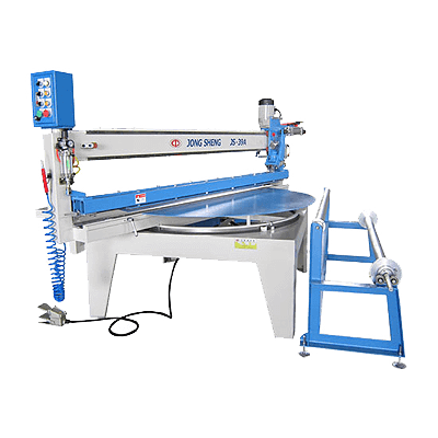 "JS-39A 60""Abrasive Belt Cut-to-Length Machine"